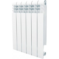 Секционный алюминиевый радиатор RoyalThermo Optimal 500 /6 секций/