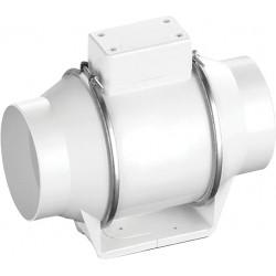 Круглый канальный вентилятор Ballu в пластиковом корпусе FLOW 125